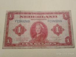 1 Guld 1943 - [2] 1815-… : Regno Dei Paesi Bassi