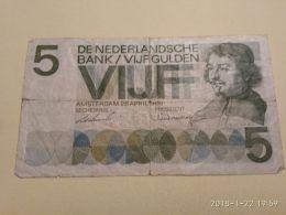 5 Gulden 1966 - [2] 1815-… : Kingdom Of The Netherlands