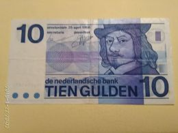 10 Gulden 1968 - 10 Florín Holandés (gulden)