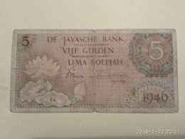 5 Gulden 1946 - Antille Olandesi (...-1986)