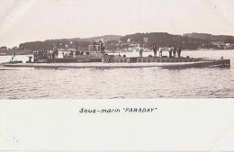 Sous Marin   299         Sous Marin  Faraday - Sous-marins