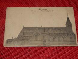 HERZELE  -  Nieuwe Kerk  -  Nouvelle église  1913 - Herzele