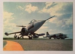 AERONAUTICA MILITARE- FORMAZIONE D'AVIOGETTI FIAT-LOCKHEED F 104 G STARFIGHTER  NV FG - 1946-....: Era Moderna