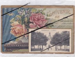 Souvenir De Hermonville (51) La Mairie (carte Décollée D'un Album Voir Au Dos) Vendu Dans L'état ) - Unclassified