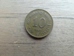 Hong-kong  10 Cents  1987  Km 55 - Hong Kong