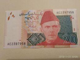 20 Rupees 2016 - Pakistan