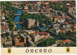 Örebro - Flygbild Over Örebro - (Aerial View) - Flygfoto; Sven Hörnell   - (Sweden) - Zweden