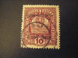 TRENTINO-1918, Austria Soprast, Sass. N. 4, 10 H., Usato, TTB, OCCASIONE - 8. Occupazione 1a Guerra