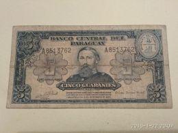 5 Guaranies 1952 - Paraguay