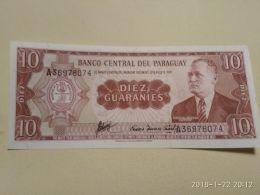 10  Guaranies   1952 - Paraguay