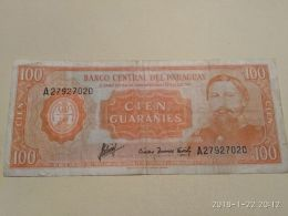 100  Guaranies   1952 - Paraguay