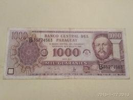 1000  Guaranies   1995 - Paraguay