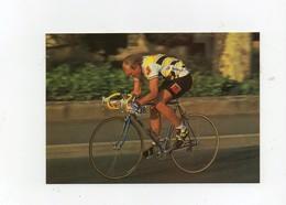 Carte Postale Laurent Fignon Equipe Du Système U Cycles Vélo Gitane Cyclisme 1986 - Cycling