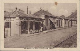 CPA Algérie Ste Sainte Clotilde épicerie Martin Animée - Altre Città