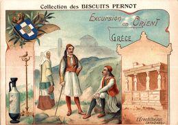 BISCUITS PERNOT  EXCURSION EN ORIENT  GRECE L ERECHTHEION - Pernot
