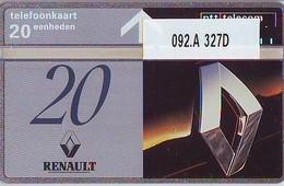 Telefoonkaart * RENAULT * LANDIS&GYR * NEDERLAND * R-092.B * 344H * Niederlande Prive Private  ONGEBRUIKT MINT - Privées