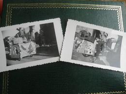 09 MIREPOIX - 2 Photos Fête Des Fleurs 1954 - LE BEAL - Mirepoix