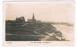 UK2803     TYNEMOUTH : The Sea Banks - Inghilterra