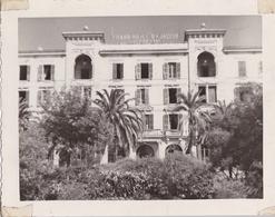 PHOTO ORIGINALE 39 / 45 WW2 U.S ARMY FRANCE CORSE ARRIVÉE DES AMÉRICAINS A AJACCIO VUE SUR LE GRAND HOTEL - Guerra, Militari