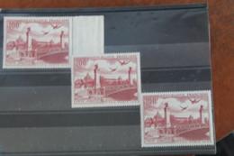 1949   CONGRES  DU  C  .  I  .  T  .  T .    X  3  EXEMPLAIRES   FRAICHEUR  POSTALE  ** - Poste Aérienne