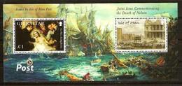 Île De Man  2005 Yvertnr. Bloc 61 *** MNH Cote 10 Euro Bataille De Trafalgar - Man (Ile De)