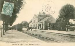 Transport. N° 42678 . Jonzac.la Gare De L Etat.train - Stazioni Con Treni