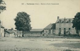 18 TORTERON / Mairie Et école Communale / - Autres Communes
