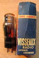 LAMPE VISSEAUW RADIO LICENCE SYLVANIA ( AVEV BOITE EN CARTON ) - Vacuum Tubes