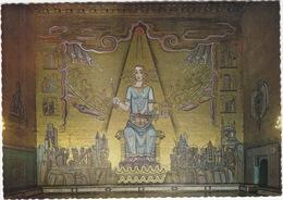 Stockholm - Stadshuset: Mälardrottningen, Einar Forseths Mosaik I Gyllene Salen  - (Goldmosaics) - (Sweden) - Zweden