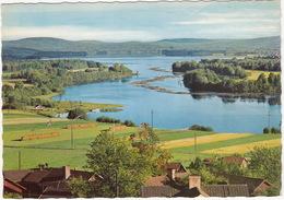 Leksand - Utsikt Fran Bystugan I Ullvi över Österdalälven Och Sjön Insjön  - (Village And Lake) - (Sweden) - Zweden