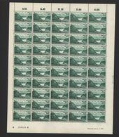 Rheinland-Pfalz,Nr.14,31.7.1947,B,gefaltet (M6) Franz.Zone-Bogen - Französische Zone