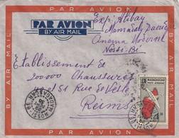 LETTRE MADAGASCAR. 22 9 36. NOSSI-BE POUR LA FRANCE - Cartas