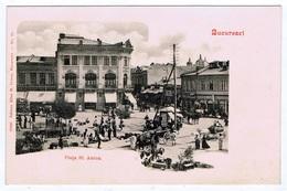 RAR Romania Bucuresti Bucuresci Bukarest Bucharest - Piata Sf. Anton Cca 1900 2 Scans Not Used Nicht Gelaufen - Roumanie