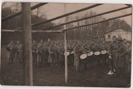 CARTE PHOTO Militaria COBLENCE Fanfare Musique - Other