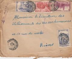 LETTRE COTE D'IVOIRE. 22 9 37. GRAND-BASSAM  POUR LA FRANCE - Côte-d'Ivoire (1892-1944)