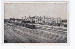 Brest- Litovsk Bahnhof Feldpostkarte Ca 1915 OLD POSTCARD 2 Scans - Belarus