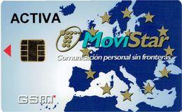PHONECARDS-PORTUGAL .ESPANHA--G.S.M.  MOVISTAR - Portugal