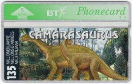 GREAT BRITAIN D-830 Hologram BT - Prehistoric Animal, Dinosaur - 403D - MINT - United Kingdom