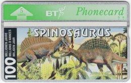 GREAT BRITAIN D-832 Hologram BT - Prehistoric Animal, Dinosaur - 402E - MINT - United Kingdom