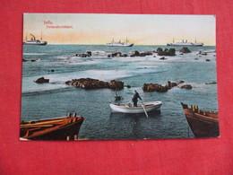 RPPC  Turkey  Jaffa Back Side Paper Residue When Removed From Album   Ref 2820 - Turkey