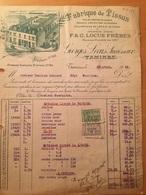 12-4-1926-FABRIQUE DE TISSUS-TAMINES-VALORI FISCALI - 1900 – 1949