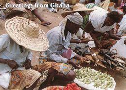 Ghana - Market Scene - Woman - Femme - Ghana - Gold Coast