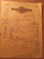 MILANO-DITTA MESTRE &BLATGE-4-6-1914 - Italia