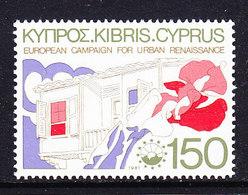 Cyprus 1981 European Heritage Year 1v  ** Mnh (ML117) - Europese Gedachte