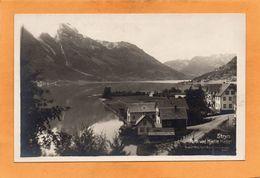 Stryn Norway 1910 Real Photo Postcard - Norvegia