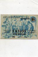 Billet De 5  Kilos..acier Ordinaire...departement Du Cantal...aurillac...voir 2 Scans - Bonds & Basic Needs