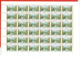 Kyrgyzstan 1992.Full Sheet Of Mint Stamps. Nature/bird. - Kyrgyzstan