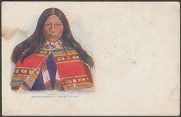 Touch-I-Goo, Indian Squaw, C.1902 - Embossed U/B Postcard - Native Americans
