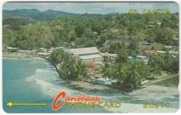 ST. LUCIA A-125 Magnetic Cable & Wireless - Landscape, Beach - 7CSLA - Used - Saint Lucia