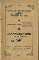 ATH - AAT - Tournai - Doornik  :  Livret  20 Pages  :  Fédération Neutre Des Sociétés Mutualistes - Zonder Classificatie